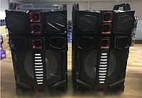 Напольные колонки Wimpex WX-7314-12 12 дюймов 350W USB/Bluetooth/FM активная стерео система