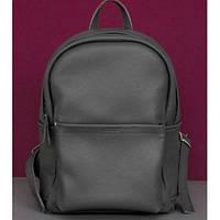Кожаный рюкзак Jizuz Carbon CN372811DG, серый