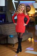 Женское замшевое платье TM Bisou 7633