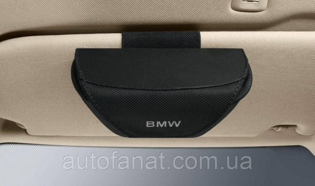 Оригінальний футляр для окулярів BMW Glasses Case, Black (51160422717)