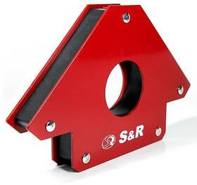 Магнитный держатель для сварки 34 кг угловой 45°,90°,135° S&R (Германия)