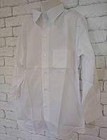 Рубашка детская.белая.р.128,134,140,146.ХБ, фото 1