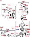 Фильтр воздушный киа Сид 1 1.4-1.6i, cee'd 2006-09 ED, H01-HD012, 281132h000, фото 4