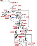 Фільтр повітряний кіа Церато 1 1.6 i, Cerato 2006-10 LD, HS01-HD023, 281132F800, фото 3