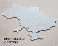 Карта Украины на стену с фанеры, фото 1