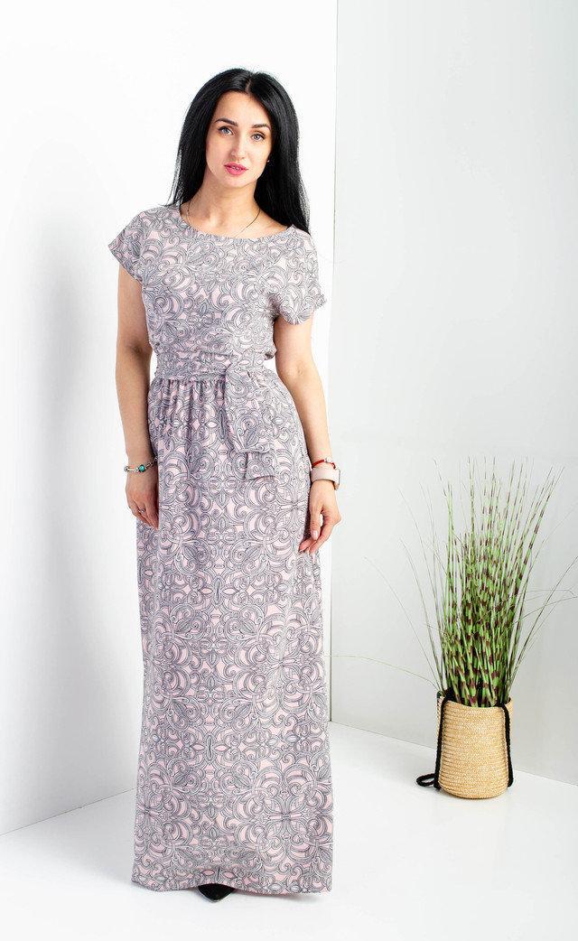 Женское летнее платье в пол