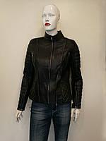 Куртка кожаная Oscar Fur 583 Черный