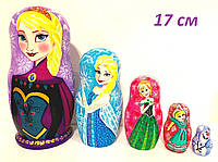 Матрешки дисней Холодное сердце Эльза и Анна, подарок для девочки