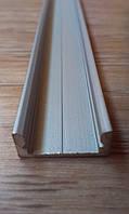 Алюминиевый профиль для светодиодной ленты накладной ЛП7