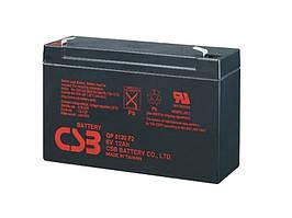 Аккумуляторная батарея CSB GP6120, 6V 12Ah Q10