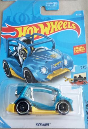 Машинка Hot Wheels 2019 Kick Kart