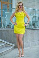 Женское платье с костюмки ТМ Bisou 7659