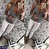 Майка женская с цепочкой. Размер S, M. Ткань турецкая вискоза, цвет белый, чёрный, серый, неон коралл, фото 4
