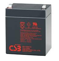 Аккумуляторная батарея CSB GP1245, 12V 4.5Ah, Q10