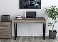 Письменный-компьютернй стол Loft-Design L-11 металл-ножки столешница-лдсп