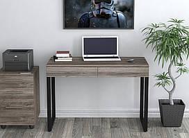 Письменный стол L-11 Loft Design, лдсп+металл