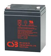 Аккумуляторная батарея CSB HR1221WF2, 12V 5Ah Q10