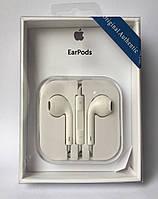Наушники Apple EarPods with Remote and Mic Jack 3.5 (copy AAA)