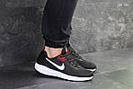 Мужские кроссовки Nike Air Zoom Structure (черно/белые), фото 3