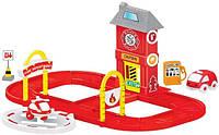 """Паркинг игрушечный """"Пожарная часть"""" (игровой набор для мальчиков)"""