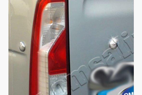 Заглушки (4 шт, нерж) Renault Master 2011↗ рр.