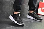 Мужские кроссовки Nike Huarache Fragment Design (черно/белые), фото 2