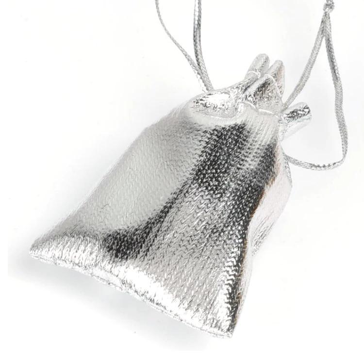 Мешочки упаковочные серебристые 7*9 см, 50 шт.