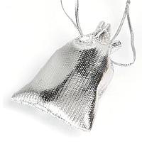 Пакувальні мішечки сріблясті 7*9 см, 50 шт.
