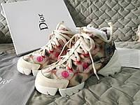 Кроссовки женские Диор Dior D Connect