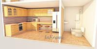 Модульный дом с кухней