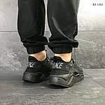 Мужские кроссовки Nike Huarache Fragment Design (черные), фото 4