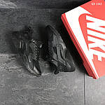 Мужские кроссовки Nike Huarache Fragment Design (черные), фото 5