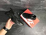 Мужские кроссовки Nike Huarache Fragment Design (черные), фото 6