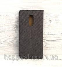 Чехол-книжка Goospery Canvas для Xiaomi Redmi note 4x (Черный), фото 2