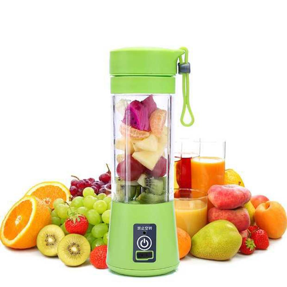 Портативный фитнес-блендер Smart Juice Cup с аккумулятором и USB зарядкой Power Bank для коктейлей и смузи