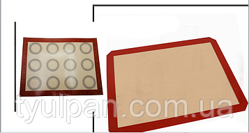Стекловолокно коврик для выпечки 30*40 см с разметкой двухсторонний