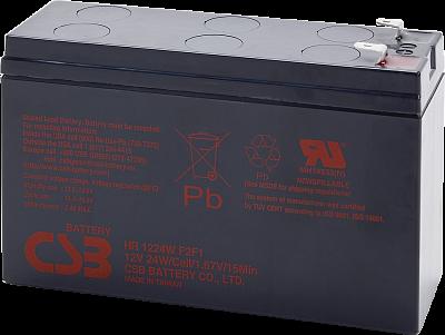 Акумуляторна батарея CSB HR1224WF2, 12V 6.5 AH Q12