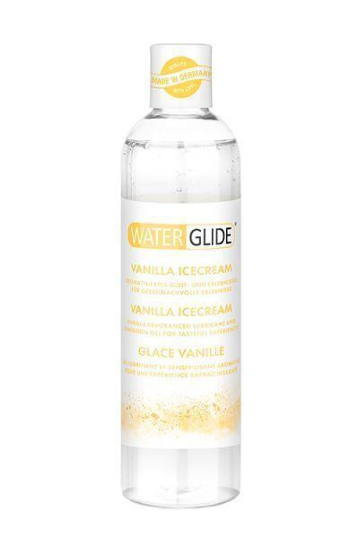 "Ароматизированный лубрикант ""Water Glide Vanilla ICECREAM"" 300 мл. С Ароматом ванильного мороженного."