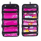 Косметичка Roll N Go Cosmetic Bag | дорожная сумка органайзер для косметики, фото 2