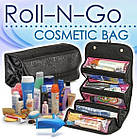 Косметичка Roll N Go Cosmetic Bag | дорожная сумка органайзер для косметики, фото 6