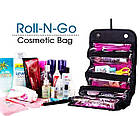 Косметичка Roll N Go Cosmetic Bag | дорожная сумка органайзер для косметики, фото 8