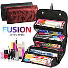 Косметичка Roll N Go Cosmetic Bag | дорожная сумка органайзер для косметики, фото 9