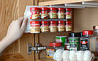 Универсальный кухонный органайзер Clip n Store для шкафов и холодильников, фото 5