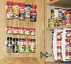 Универсальный кухонный органайзер Clip n Store для шкафов и холодильников, фото 8