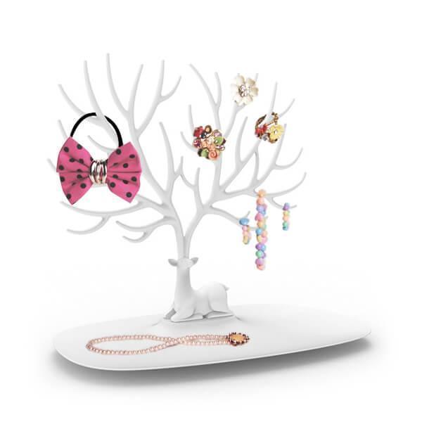 Подставка для украшений My little Deer tray | подставка для бижутерии дерево олень