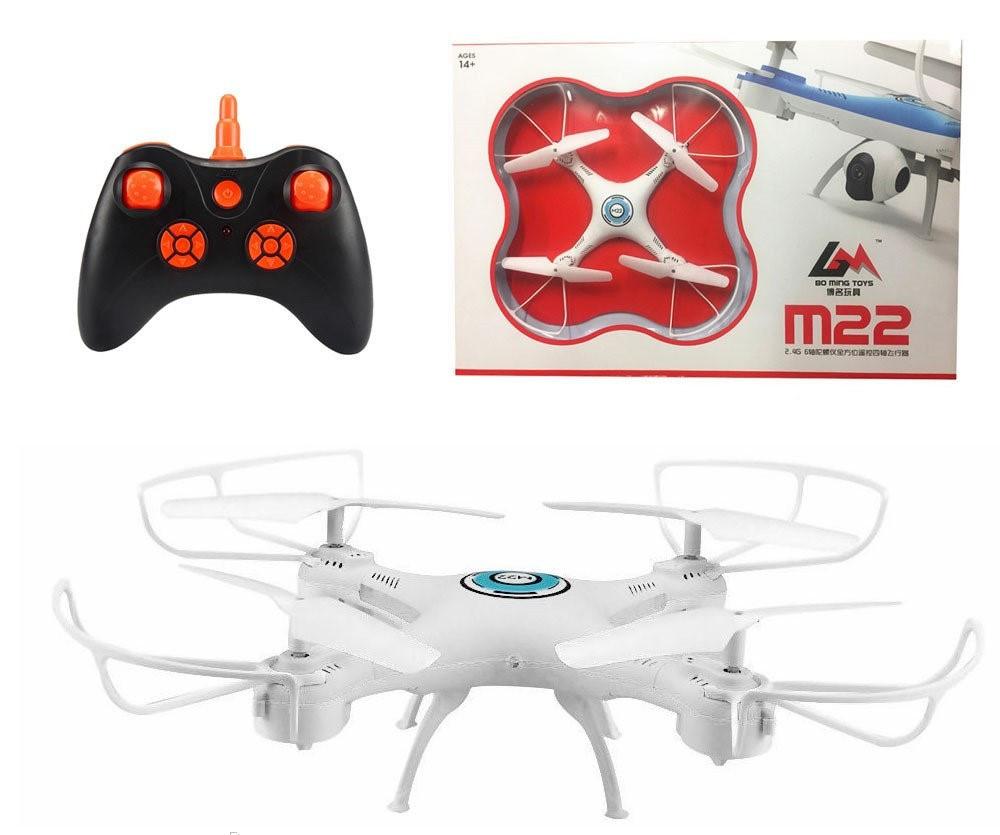 Квадрокоптер M22 c камерой + WiFi | летающий дрон | коптер