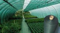 Сетка затеняющая 70% затенения, 4,2м*50м, зелёная, 85г/кв.м., Украина