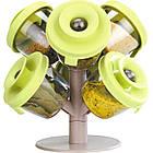 Набор баночек для специй и приправ Pop Up Spice Rack из 6 сосудов | спецовник 6 шт, фото 7