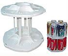Органайзер для холодильника CAN TAMER | вращающаяся подставка для банок и консерв, фото 5