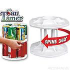 Органайзер для холодильника CAN TAMER | вращающаяся подставка для банок и консерв, фото 6